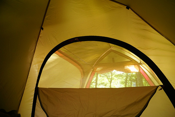 ステイシーST-2テントでお昼寝