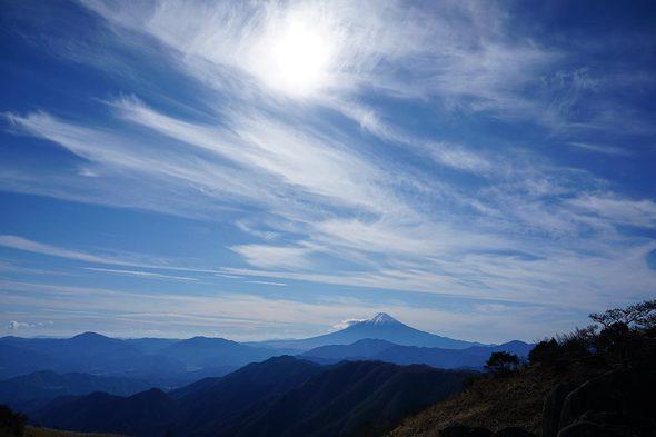 白谷ノ丸からの眺望