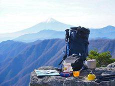 白谷ノ丸から望む富士山