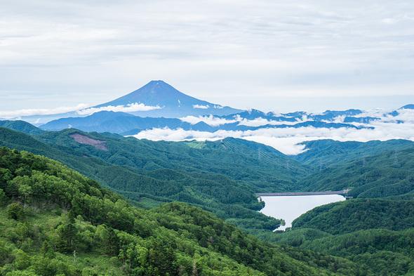 標高2000M地点の眺望