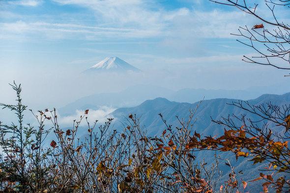 山道からの富士山2