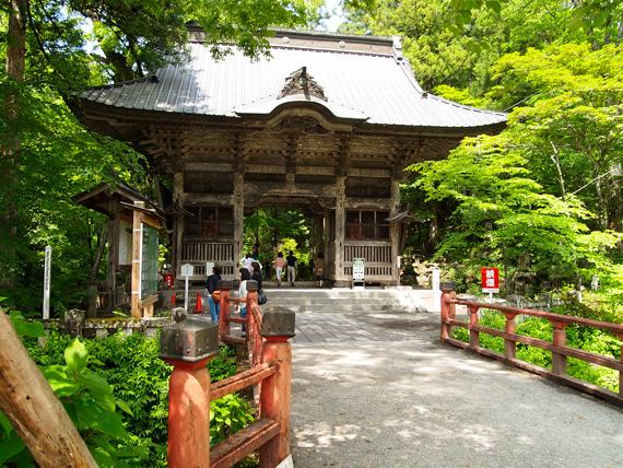 榛名神社の入口