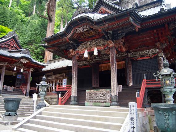 榛名神社 本殿