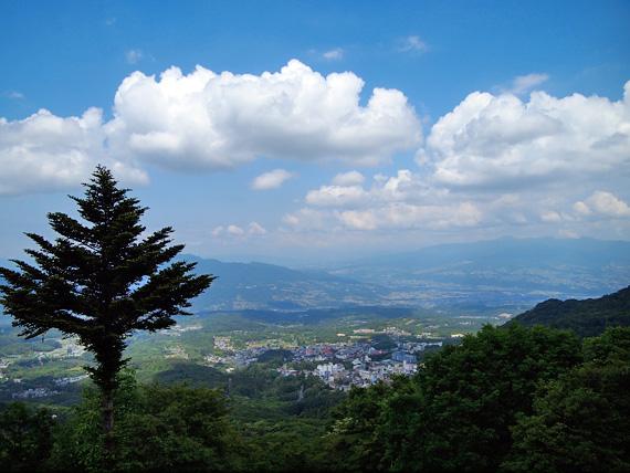 上毛三山パノラマ街道 見晴台からの眺望