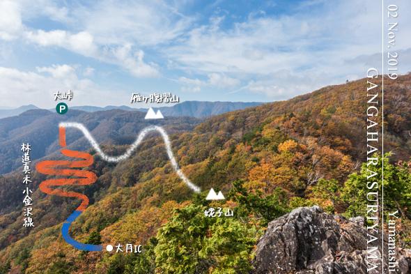 紅葉の雁ケ腹摺山&姥子山