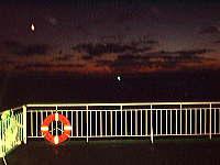 夕暮れの北海道