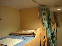 「さんふらわあ つくば」の二等寝台室