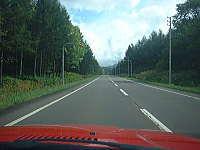 快適な道道101号線