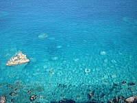 神威岬からの海面