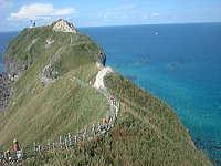 神威岬「チャレンカの小道」