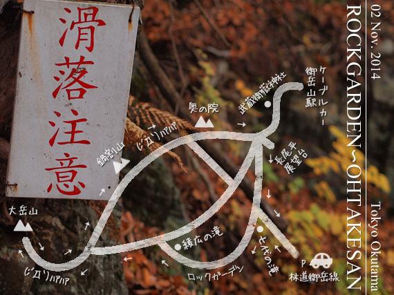 ロックガーデン~大岳山レポート