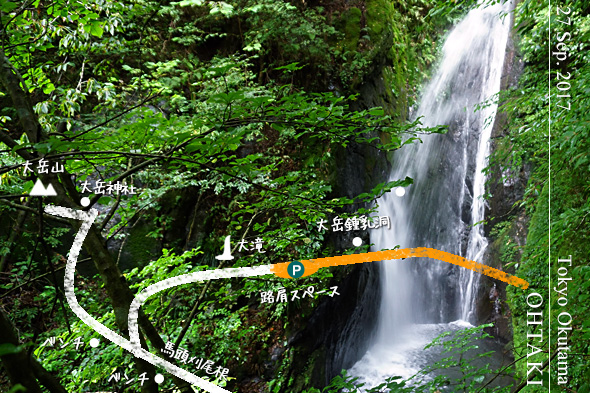 大滝&大岳沢の清流めぐり