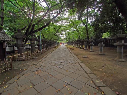 東照宮の参道