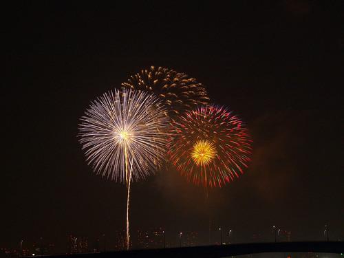 2013年 東京湾大華火祭 写真1