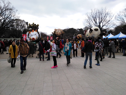 2016年3月27日の上野公園4