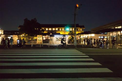 9月9日 上野国立博物館正門前