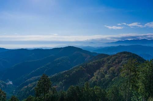 2018年11月3日(土)午前9:30 景信山からの展望その3