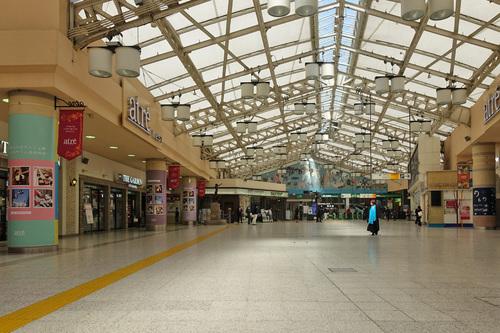 STAY HOME週間 上野駅改札前
