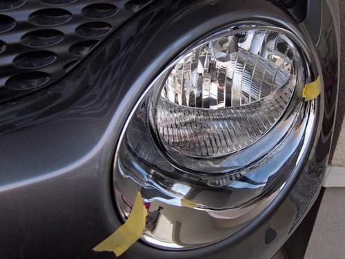 VMAXX製のヘッドライトトリム