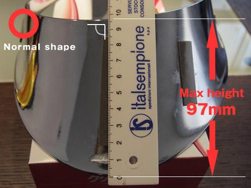 VMAXX製ジャストフィットの右側トリム