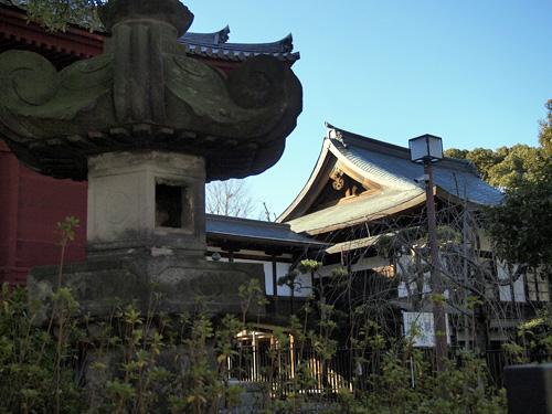 上野公園の神社