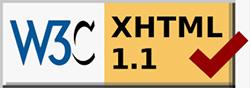 W3C Markup Validation Service OKのアイコン